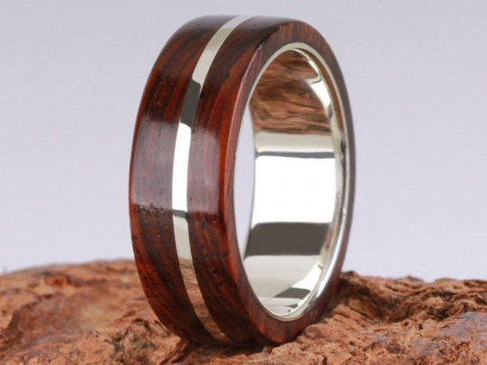 1st Edition Cocobolo Holzring