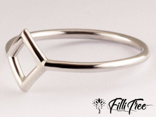 Holey shit rectangle Ring design by Fillitree