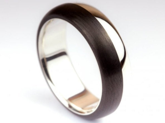 9th bombiert Carbon Ring